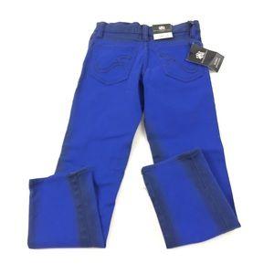Rock & Republic Youth Skinny Blue Jeans 7XR